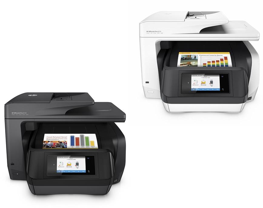 Hp officejet pro 8720 vs 8725 damorashopcom for Hp all in one printer with document feeder