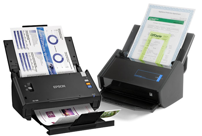 Epson WorkForce DS-510 vs. Fujitsu ScanSnap iX500