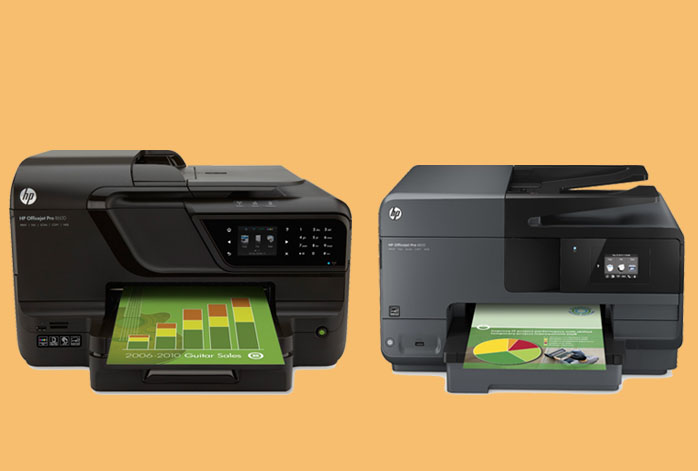 HP OfficeJet Pro 8600 vs. 8610
