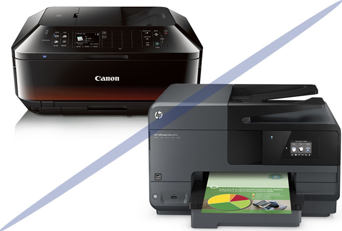 Canon Pixma MX922 vs. HP OfficeJet Pro 8610