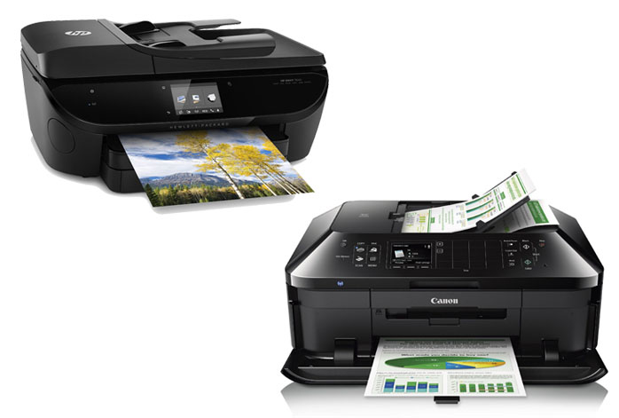 HP Envy 7640 vs. Canon Pixma MX922