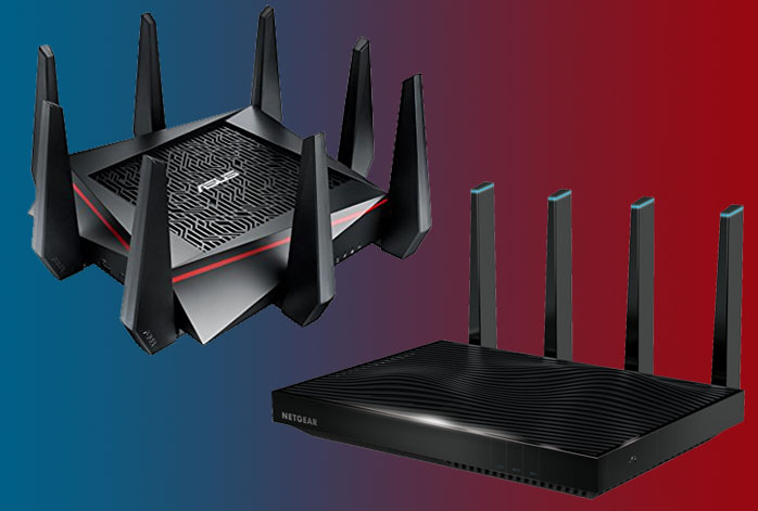 Asus RT-AC5300 vs. Netgear R8500
