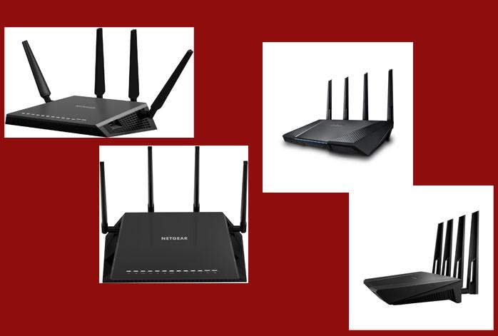 Netgear Nighthawk X4 vs. Asus RT-AC87U