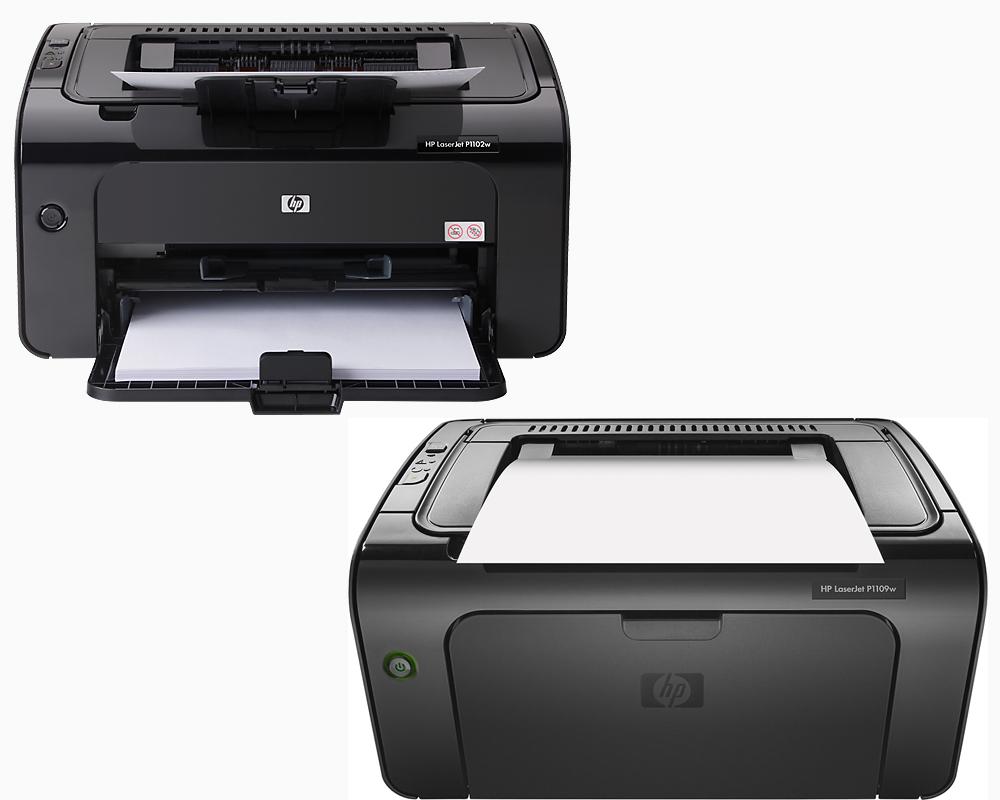 HP Laserjet Pro P1102W vs. P1109W