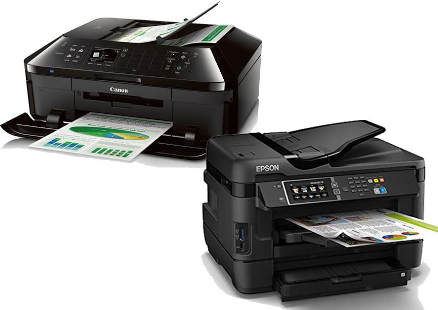 Canon Pixma MX922 vs Epson WorkForce WF 3620