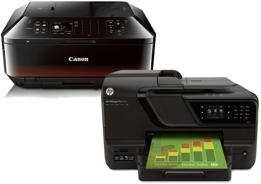 Canon Pixma MX922 vs HP Officejet Pro 8600