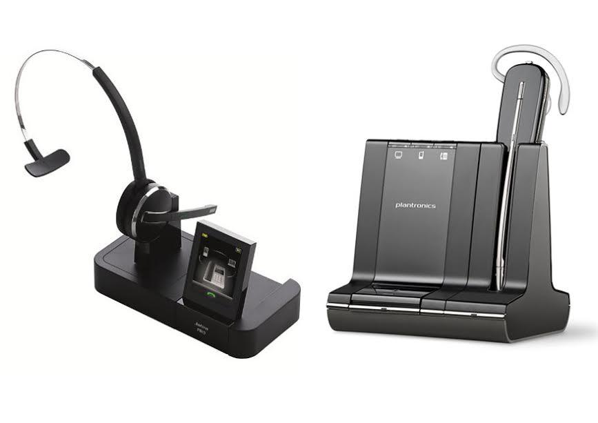 Jabra Pro 9470 vs Plantronics Savi W740
