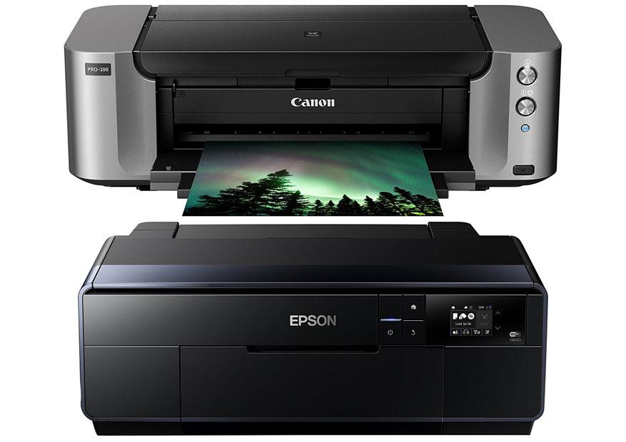 Canon Pixma Pro 100 vs Epson P600