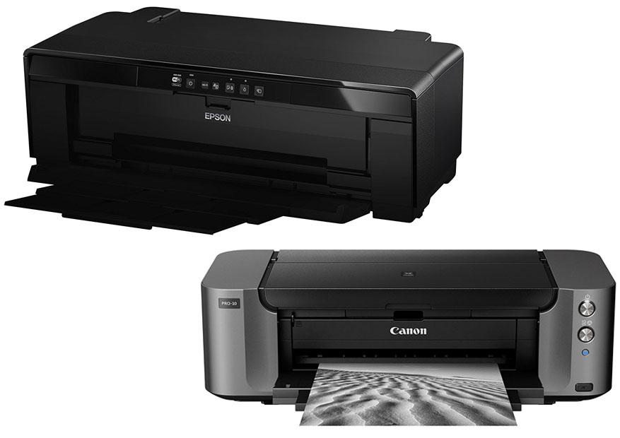 Epson P400 vs Canon Pro 10