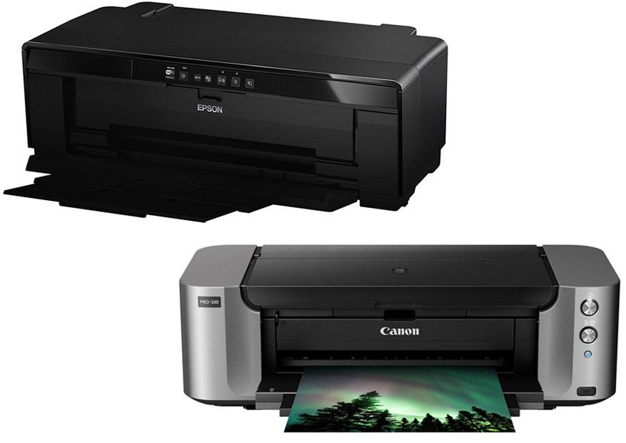 Epson P400 vs Canon Pro 100